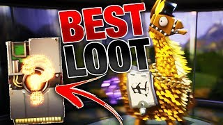 LUCKIEST Llama Opening YET! | BEST Legendary Troll Loot Truck Llamas! | Fortnite Save the World PVE
