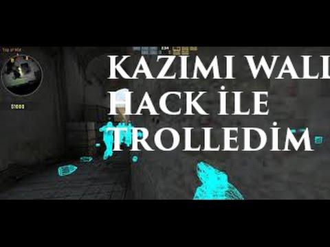 KAZIM'I WALL HACK İLE TROLLEDİM CSGO
