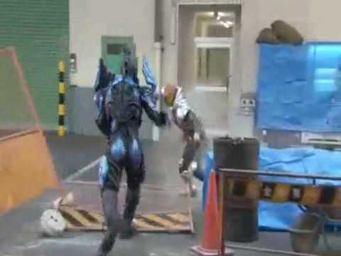 Kamen Rider Kiva Vs. Horse Fangire (The Capriccio of the Paradise with Light)