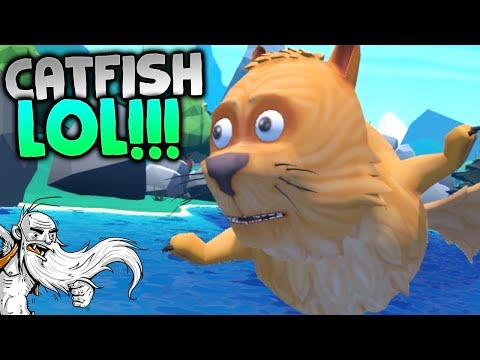 """Crazy Fishing VR Gameplay - """"EXPLORING THE LAKE!!!"""" HTC Vive Virtual Reality Let"""