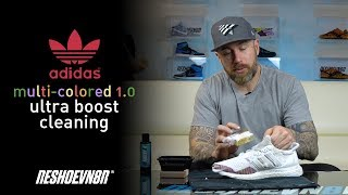 The Best Way To Clean Adidas Multicolor Ultraboost With Reshoevn8r!!