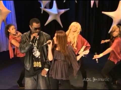 Danity Kane & P  Diddy   ShowStopper @ Aol Music Sessions 07