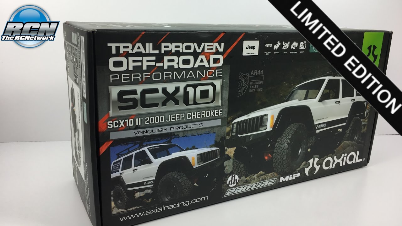 Axial scx ii limited edition vanquish kit unboxing