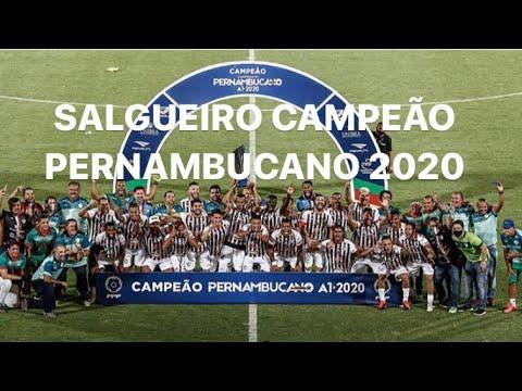 O SALGUEIRO É CAMPEÃO PERNAMBUCANO 2020! O CARCARÁ VENCEU O SANTA ...