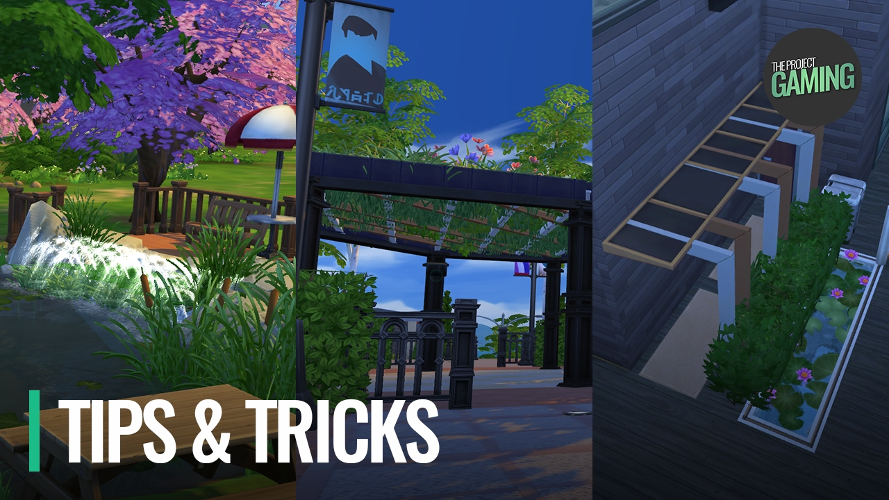 The sims 4 building tips tricks 3 exterior decor for Construction tips and tricks
