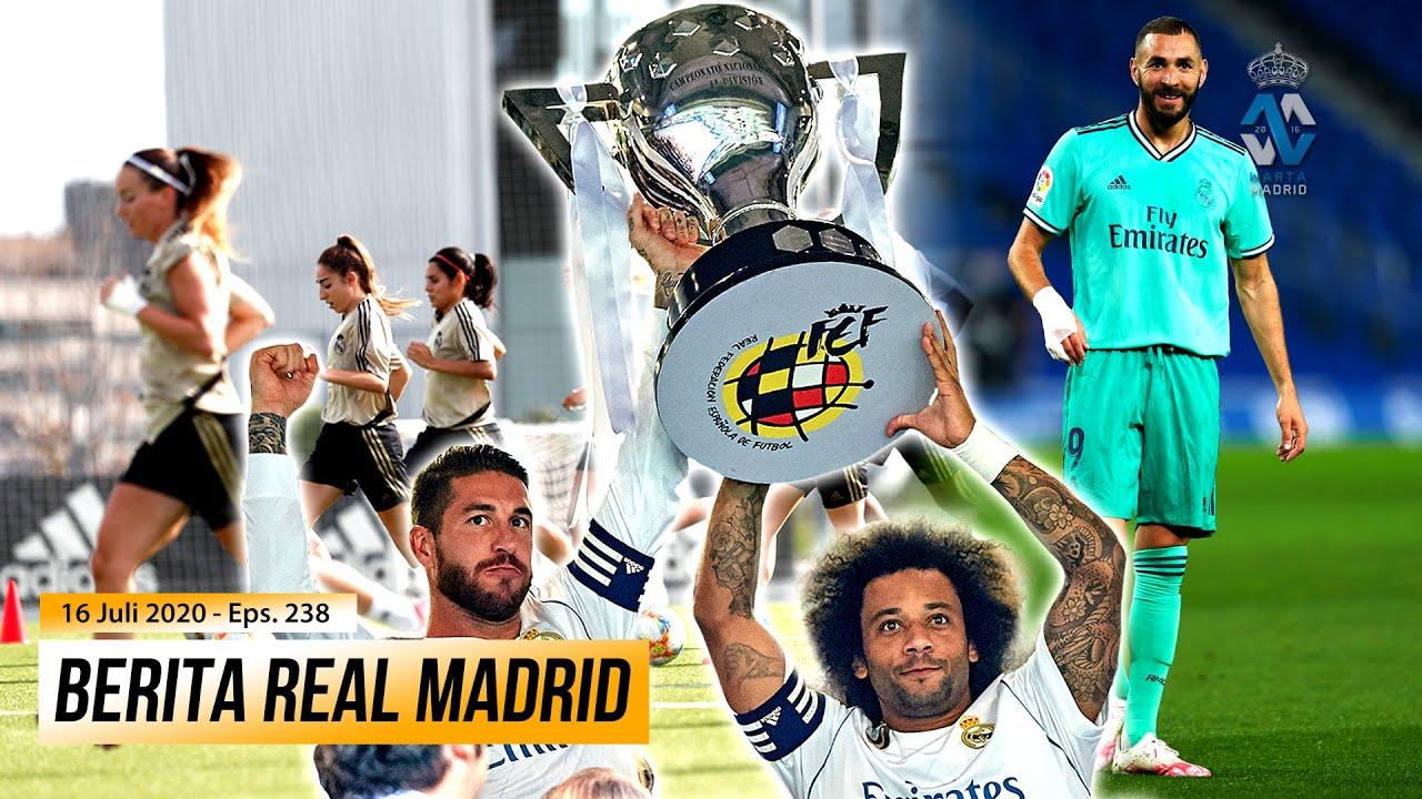 HOY VAMOS A POR LA 34 🏆 Sesi Latihan Perdana Real Madrid Feminino | El Pichichi Untuk Karim Benzema