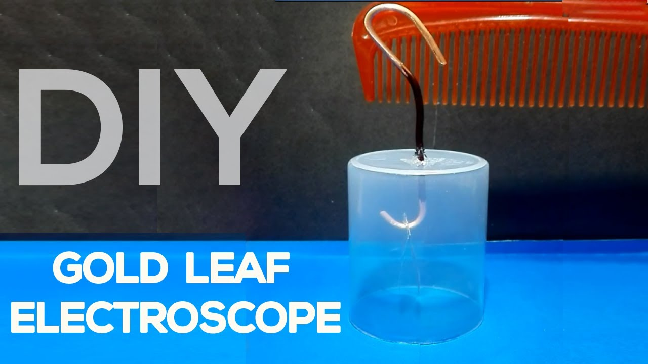 How to make an electroscope at home 91