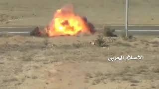 Война в Йемена. Хуситы попытались подорвать патруль саудовцев