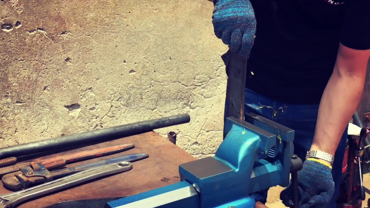 Kings Forged Steel Bench Vise Youtube