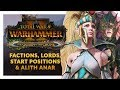The Queen and The Crone DLC & Alith Anar | Lords, Start Positions, Stats, Skills