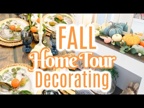 FALL HOME TOUR 2019 | FALL DECORATING | FARMHOUSE DECOR