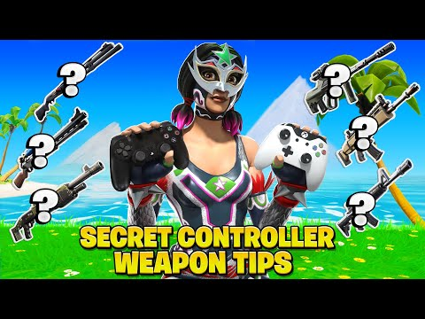 1 CRUCIAL Controller Aim Tip For Every Weapon In Fortnite! (Fortnite Tips PS4 + Xbox)