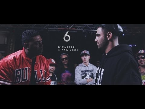 KOTD - Rap Battle - Dizaster Vs Aye Verb