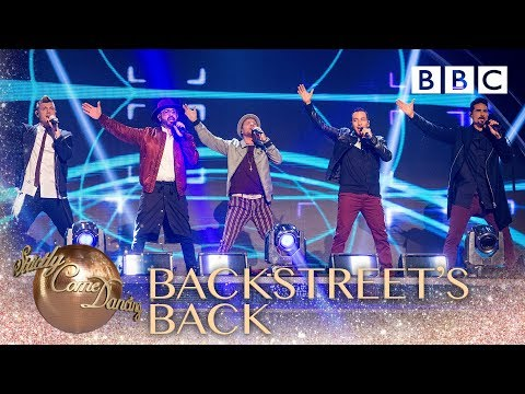 The Backstreet Boys remix their greatest hits  BBC Strictly 2018