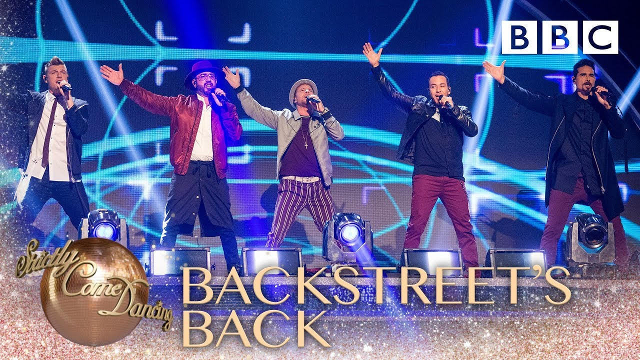 The Backstreet Boys remix their greatest hits - BBC Strictly 2018 #1