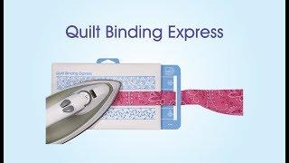 June Tailor Quilt Binding Express Demonstration Video.mp4