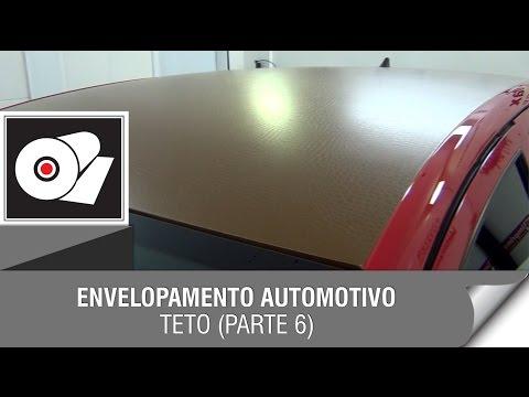 Envelopamento Automotivo - (PARTE 6) Teto