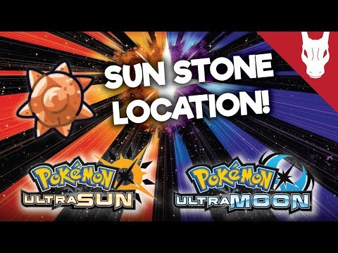 Where to Find The Sun Stone in Ultra Sun and Ultra Moon