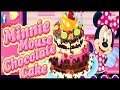 Minnie Mouse Chocolate Cake - Cooking Games For Kids
