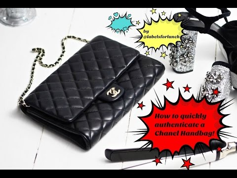 e4ecc3c32304 Chanel Bags  How to quickly authenticate a handbag! - YouTube