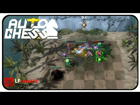 Dota2: Auto Chess #6 | The Warlock Efficiency
