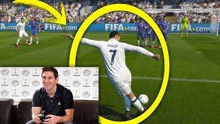 Berühmte Fußballer spielen FIFA! ft. Messi, Pogba, Neymar, Suarez