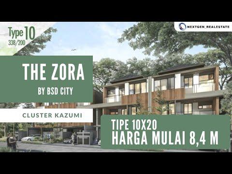 Rumah ada liftnya!!!Tour Show Unit Cluster KAZUMI The Zora ...