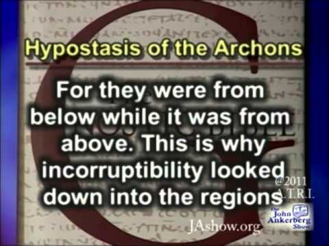 What is taught in the Gnostic Gospel  Hypostasis of the Archons?