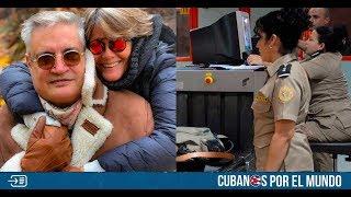 Amaury Pérez y su esposa denuncian maltrato de la Aduana de Cuba y después la eliminan