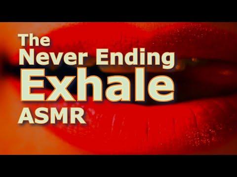 Never Ending Exhale - Perpetually Downward Shepard Tone - ASMR
