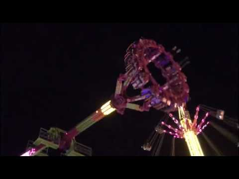 Extreme Thriller Amusement Ride Perth Western Australia Royal Show  24 September 2016