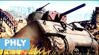 If you can't beat 'em, join 'em | JUMBO STYLE (War Thunder Tanks Jumbo Sherman Gameplay)