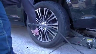 HowTo: Patch a tire on the vehicle!