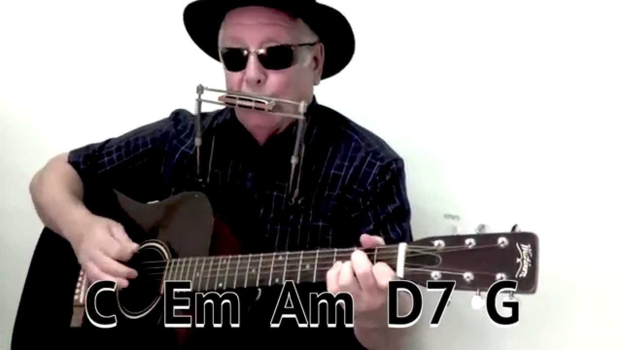 A Whiter Shade Of Pale Easy Chords Guitar Lesson On Screen