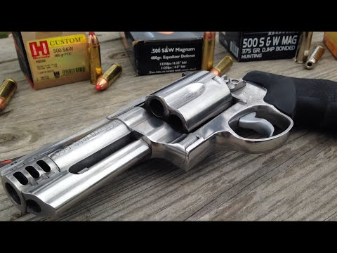 .500 Magnum: Recoil Comparisons