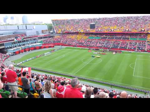 O Canada at Fifa Women's World Cup Edmonton, AB