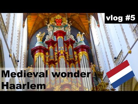 vlog #6 An afternoon in Haarlem,Netherlands.Guide, whats in Haarlem plus a quick history lesson