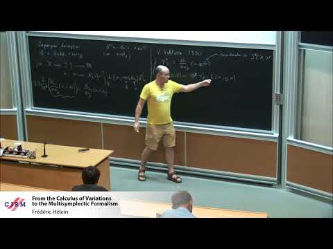 Frédéric Hélein :  From the Calculus of Variations to the Multisymplectic Formalism