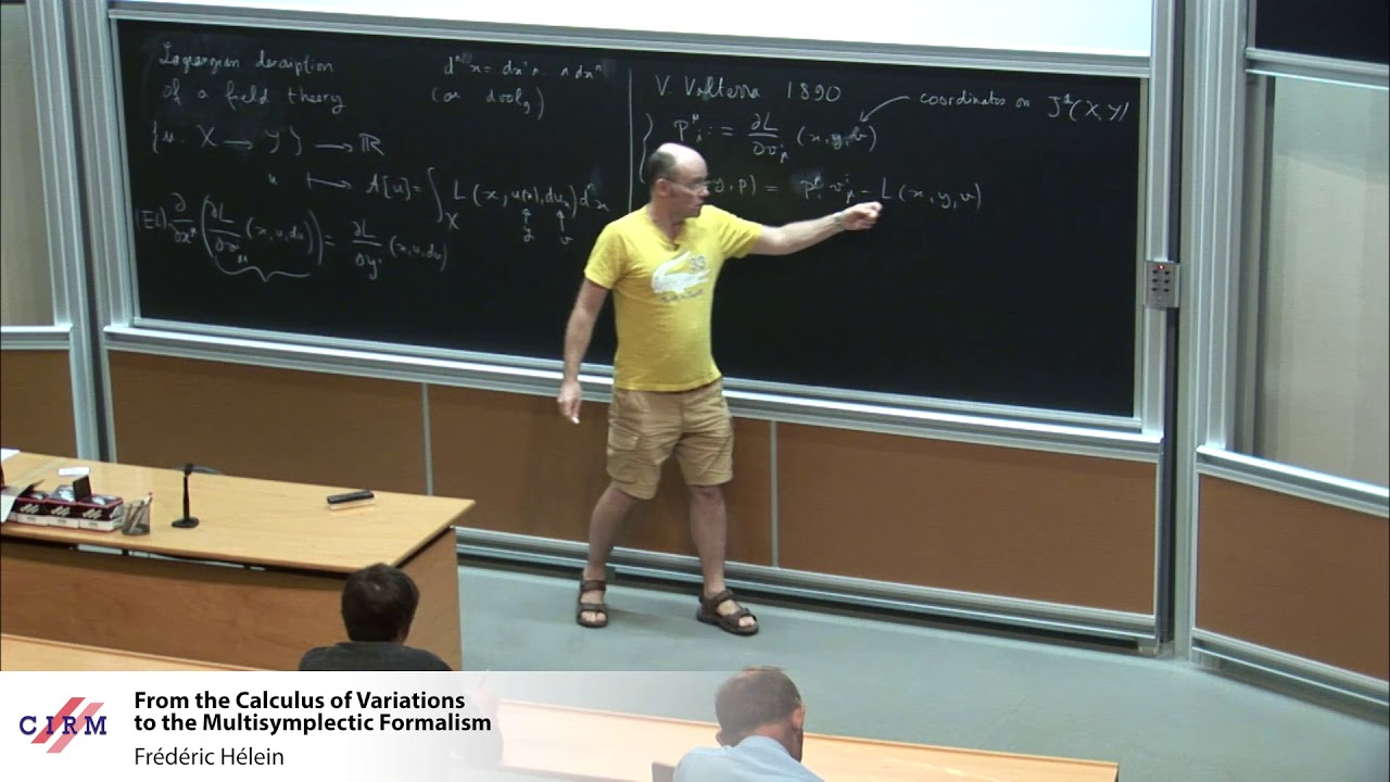 Download Frédéric Hélein :  From the Calculus of Variations to the Multisymplectic Formalism