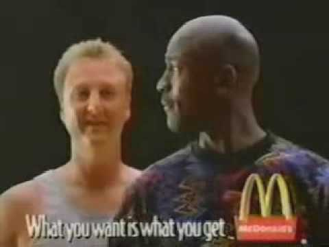 Image result for larry bird mcdonalds