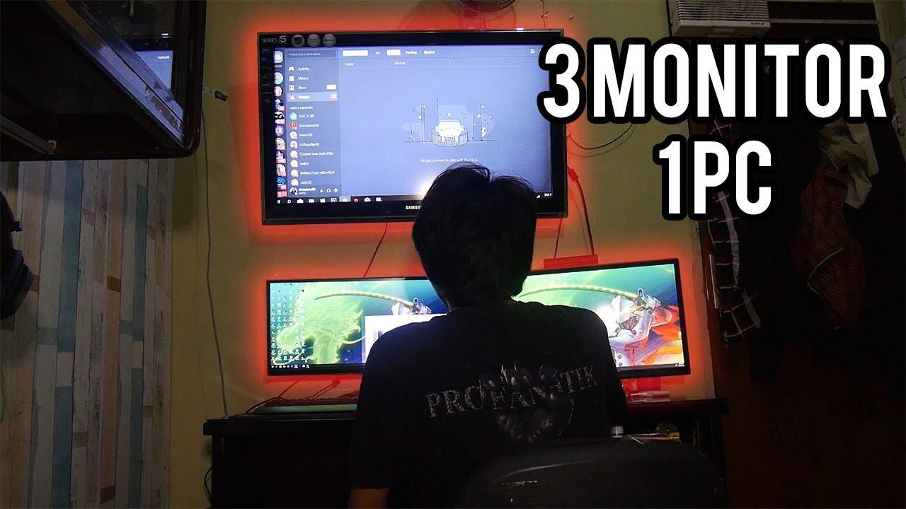 Cara Membuat Tv Jadi Monitor Pc Laptop Youtube
