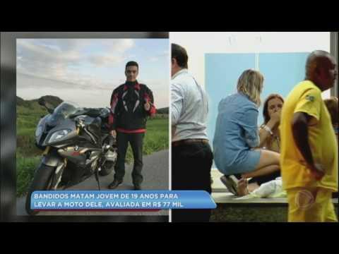 Bandidos matam jovem para roubar moto de R$ 77 mil