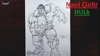 Süper Kahraman HULK Nasıl Çizilir - Karakter Çizimi Karakalem