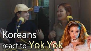 Koreans react to Yok Yok (Feride Hilal Akın) MV Resimi
