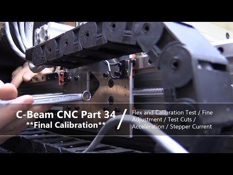 #34 Checking Flex in DIY CNC #34 / Final Calibration and Fine Adjusting Steps