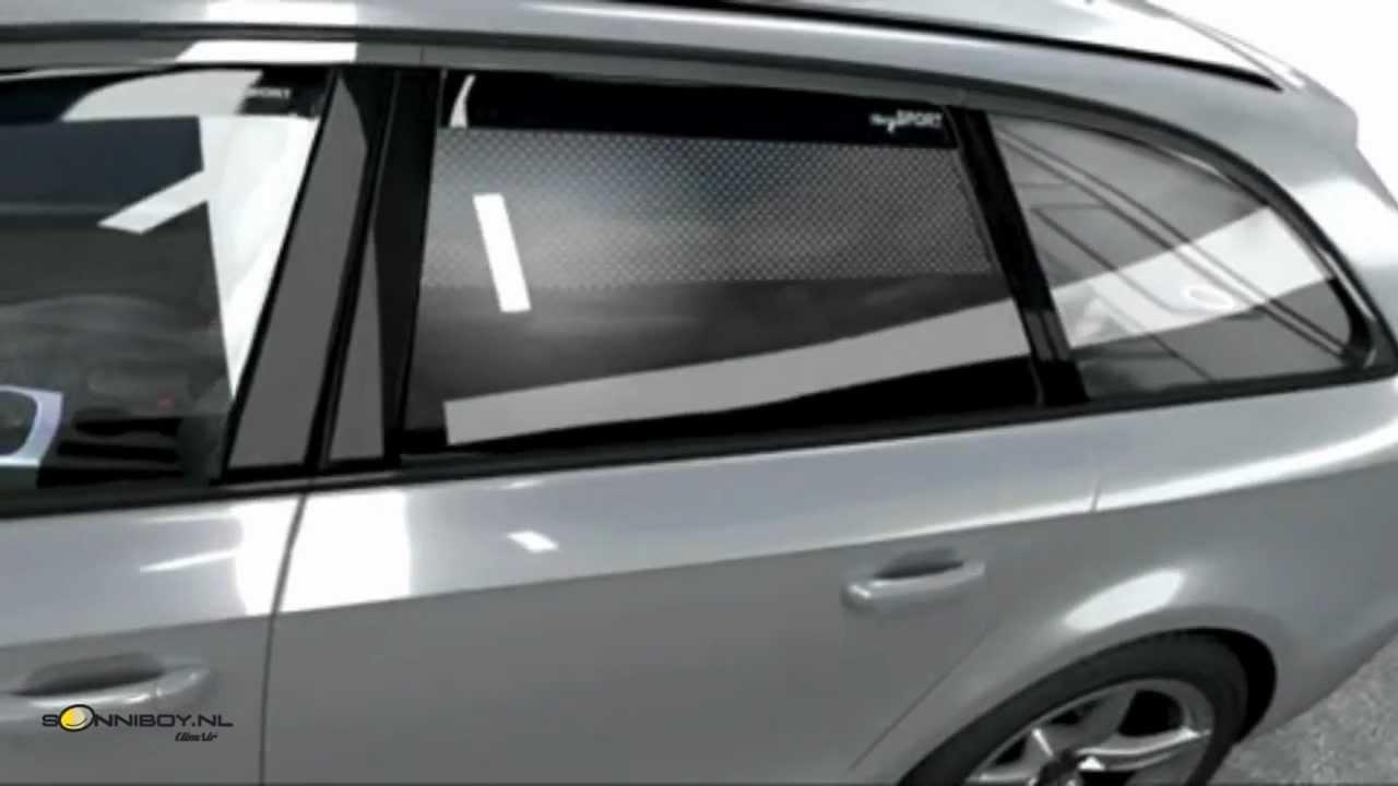 Sonniboy nl zonneschermen voor de auto    YouTube