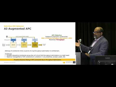 Machine Learning Case Study: Mining - Hari Menon Of Symphony Industrial AI  - ARC Industry Forum
