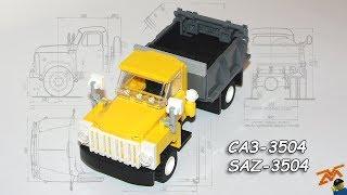 САЗ 3504 ГАЗ 52 02 из Lego мини инструкция