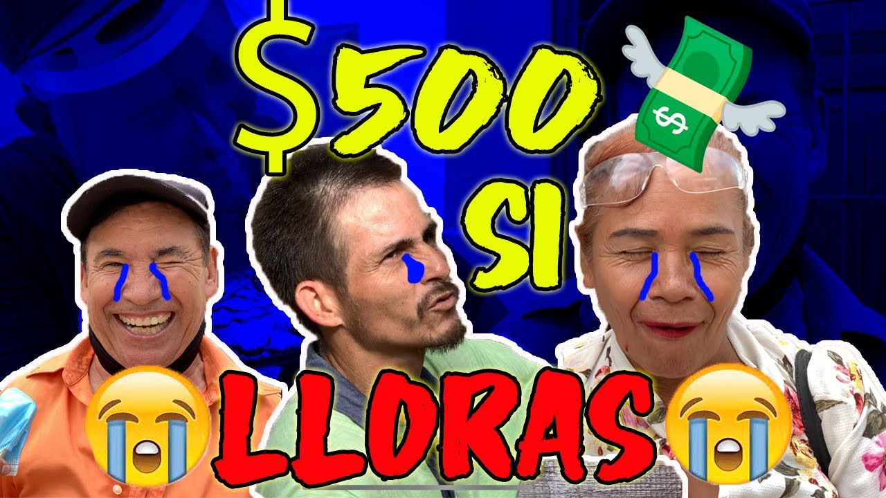 TE REGALO $500 SI LOGRAS LLORAR//cevichurros show ft triki triki