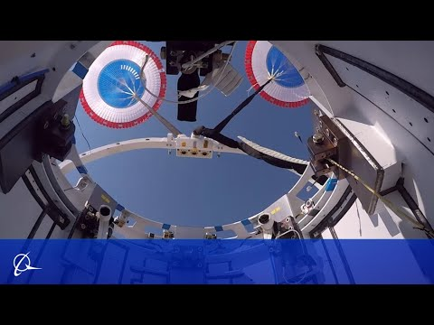 Boeing Starliner Parachutes Perform Under Pressure